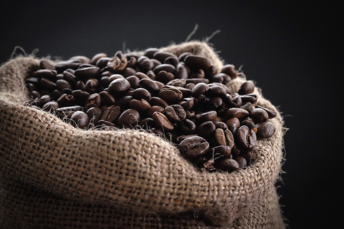 bao bố cà phê